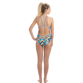 Dolfin String Back One Piece Badpak Dames, kaleidoscope